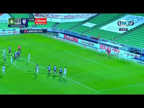 Santos Laguna [1] - 1 Pachuca - Julio Furch 45+5'   Penalty