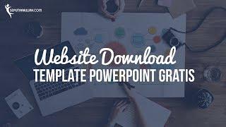Gambar cover Website Download Template PowerPoint Gratis