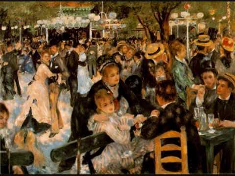 Meditation on 'Le Moulin de la Galette' by Renoir