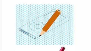 Drawing a MP3 Player in Isometric Projection and Applying Shade.
