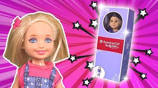 Barbie - Chelsea Wants a New American Girl Doll