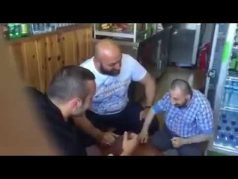 Köksal Baba Samet Yeşil Liverpol Futbolcusu Bilek Güreşi