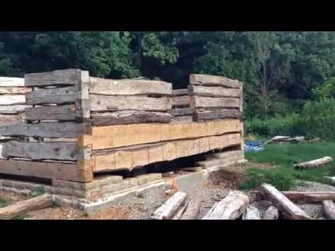 Norwegian-American log house restoration, Decorah, IA