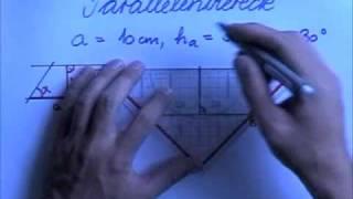 Parallelenviereck konstruieren 1
