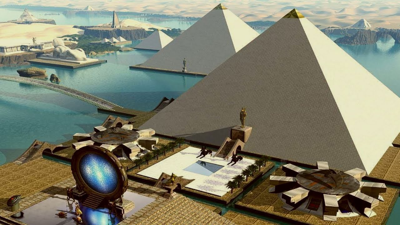 The Great Pyramid of Giza Used in Quantum Experimentation