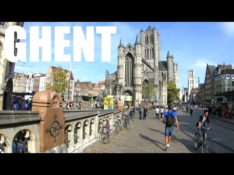 A Tour of GHENT, BELGIUM | This City is Incredible!