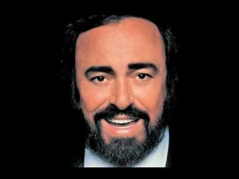 Luciano Pavarotti. Caro mio ben. G. Giordani.