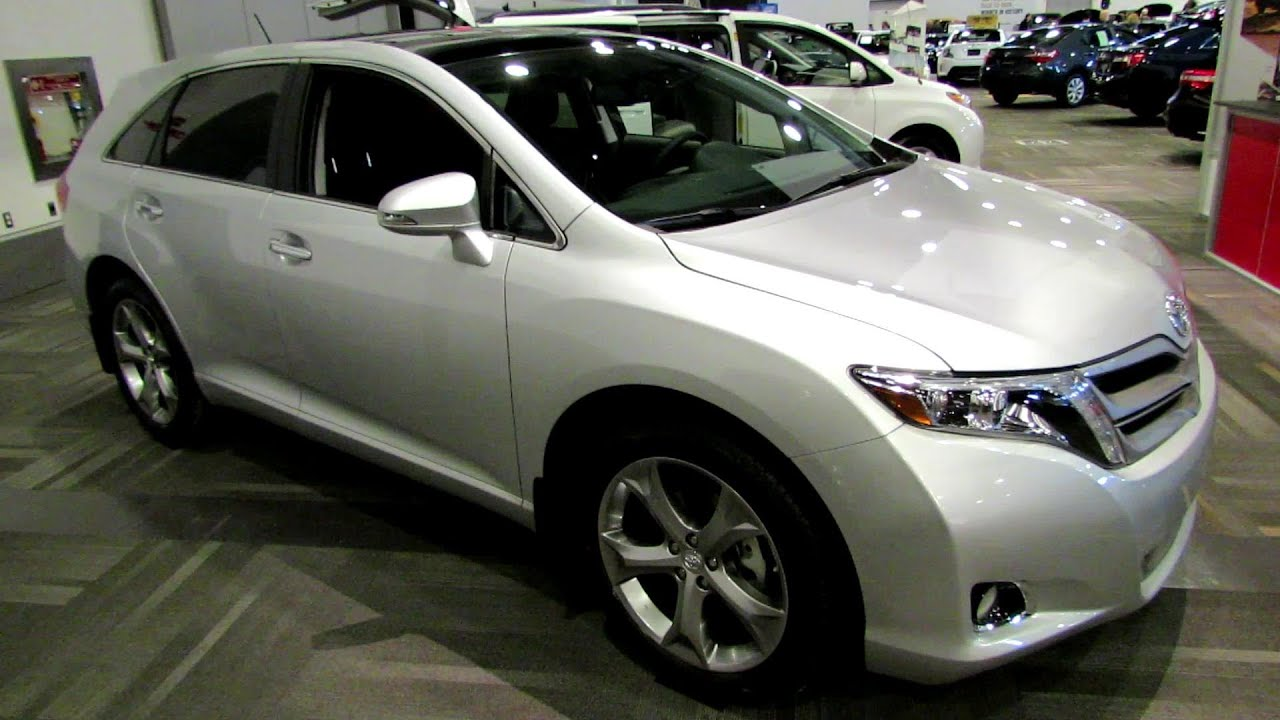 2014 Toyota Venza Limited Awd Exterior And Interior