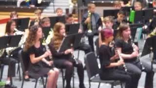 1st Ten Oaks Middle School Band Concert