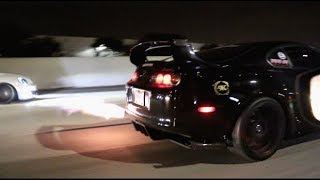 The 800HP Firebreathing Supra From Hell!