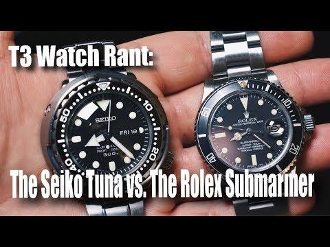 The Seiko Tuna vs. The Rolex Submariner