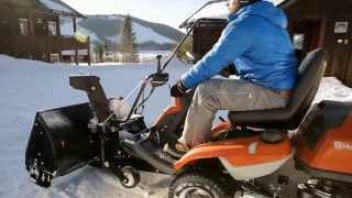 Best Buy Mowers presents...Husqvarna's 300 Series Ride-on Lawn Mowers