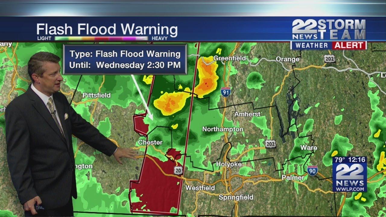Flash Flood Watch In Effect Across Parts Of Massachusetts ...