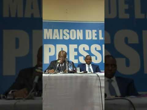 Conférence de presse de l'Association des procureurs du Mali  A propos des agissements de deux cito