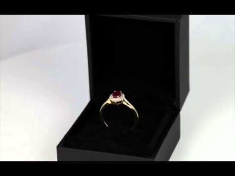 Custom Designed Diamond Sapphire Ring