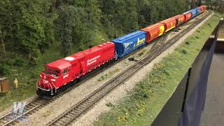 Walthers Showroom Update 108 –WalthersMainline® HO EMD SD60M with 3-Piece Windshield