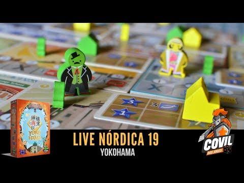 Covil dos Jogos - Live Nórdica 19 Yokohama