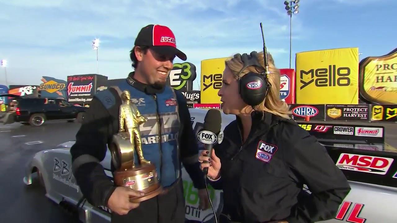 2018 Lucas Oil NHRA Winternationals Alcohol Funny Car winner Shane Westerfield