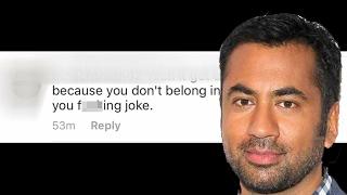 Kal Penn Uses Racist Troll To Raise Money