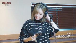 [Live on Air] YEZI - Anck Su Namum,  예지 - 아낙수나문 [정오의 희망곡 김신영입니다] 20170531