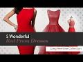5 Wonderful Red Prom Dresses Long Hemline Collection