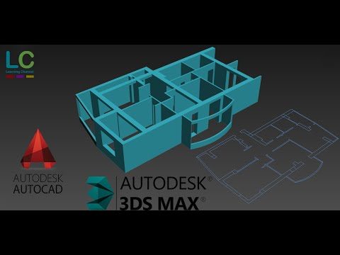 Import AutoCAD File In 3DS Max