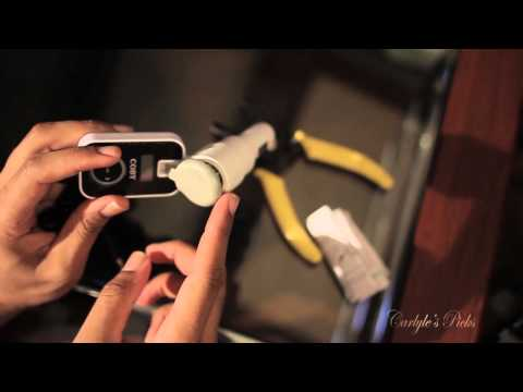 Coby CA745 Wireless Car FM Transmitter Unboxing