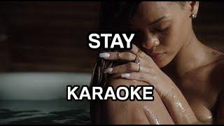 Rihanna ft. Mikky Ekko - Stay [karaoke/instrumental] - Polinstrumentalista