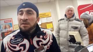 охранник магазина: я тебе твой телефон в жопу засуну