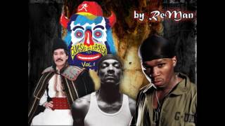 50 Cent vs  Liviu Vasilica vs  Gojira vs  Parazitii vs Snoop Dogg  Robot Armasar Attack ReMan Mashup