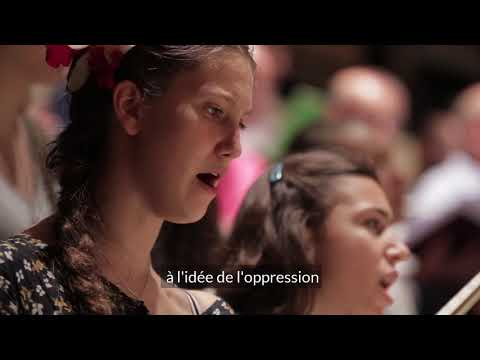 """Go Down Moses"" (A Child of Our Time) - Chœur de l'Orchestre de Paris - Lionel Sow"