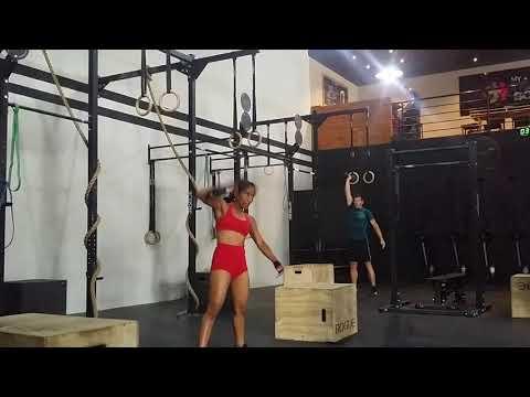 Madagascar fitness batlle 18.3 Narindra