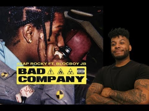 ASAP Rocky - Bad Company Feat. Blockboy JB (Reaction/Review) #Meamda