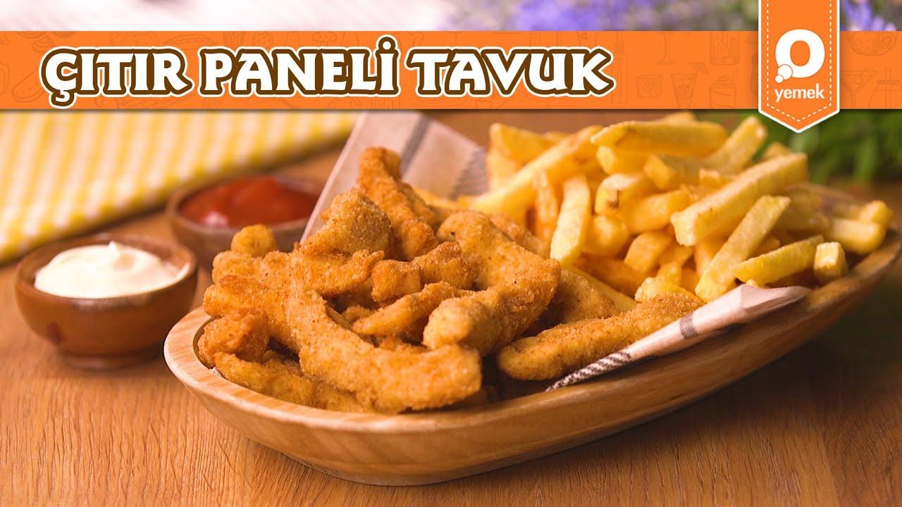 Çıtır Paneli Tavuk - Pratik Yemek Tarifleri