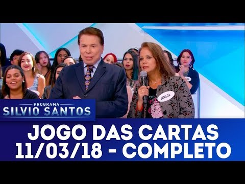 Jogo das Cartas - Completo | Programa Silvio Santos (11/03/18)