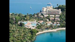 Grecotel Eva Palace 5 Грекотель Ева Пелас Греция Корфу обзор отеля территория пляж