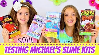 SLIME TEST!  MICHAEL