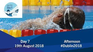 Day 7 Evening | 2018 World Para Swimming Allianz European Championships