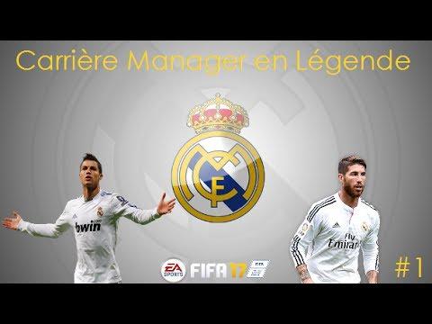 FIFA 17   LÉGENDE   LANCEMENT AVEC LE REAL MADRID ! [#1]