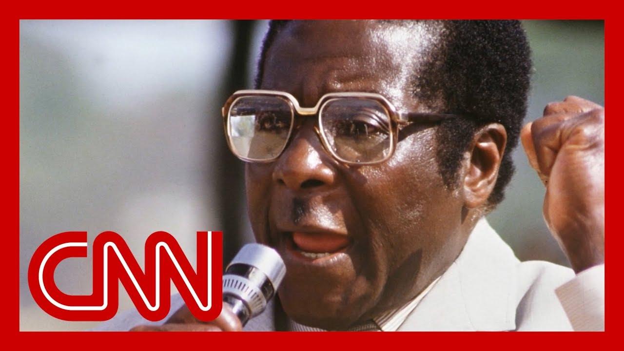Robert Mugabe, Zimbabwe's longtime president, dies at 95