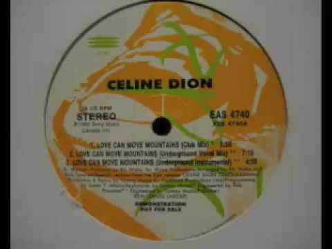 Celine Dion - Love Can Move Mountains (Underground Vocal Mix)