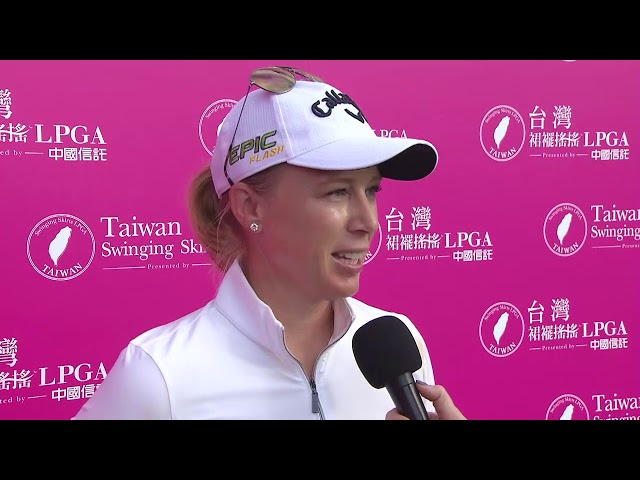 Morgan Pressel Talks Second Round 67 at the 2019 Taiwan Swinging Skirts LPGA presented by CTBC