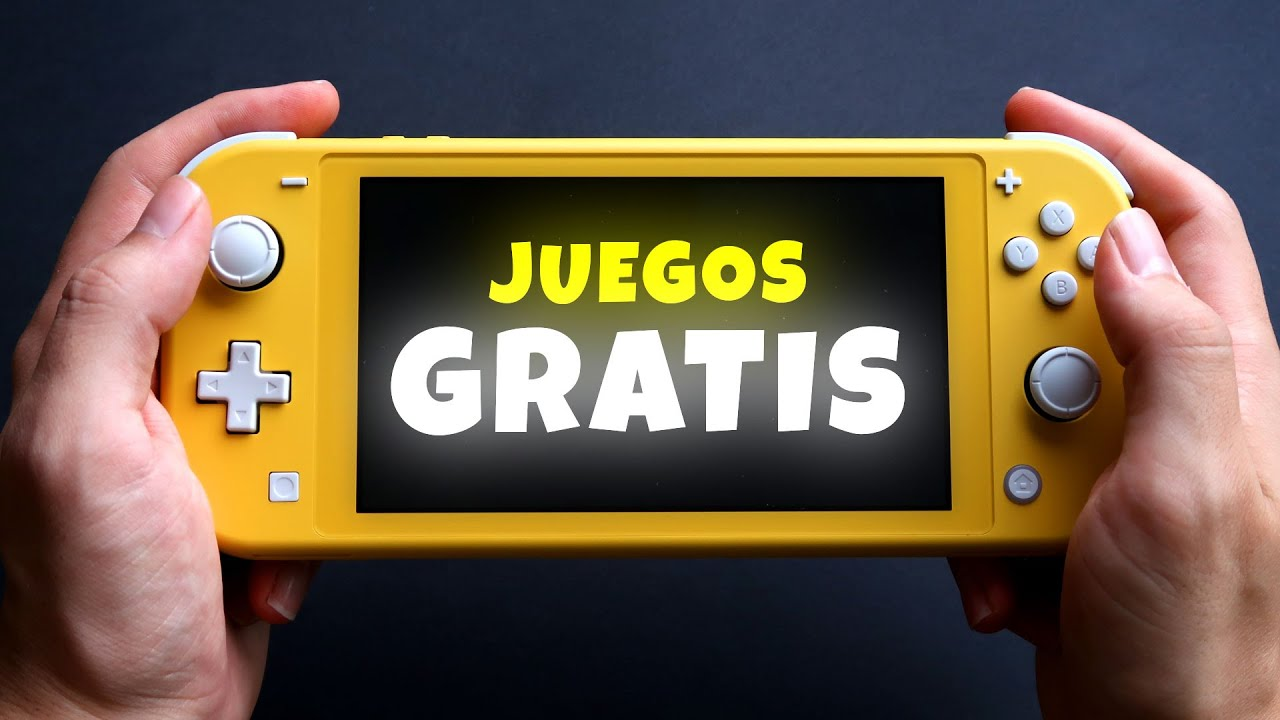 Pruebo 8 Juegos Gratis En Una Nintendo Switch Lite Youtube
