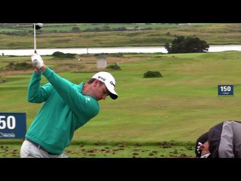 WGC-HSBC Champion Justin Rose | RARE Practice Footage | Portstewart GC