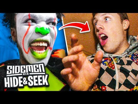 HAUNTED CLOWN MAZE HIDE AND SEEK