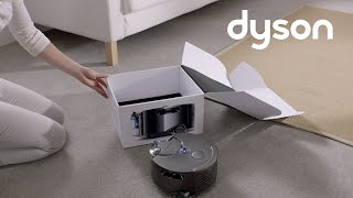 Dyson 360 Eye™ robot vacuum - Getting started