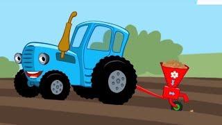 Мультфильм про машинки – Котенок и волшебный гараж –Работа в поле - Для самых маленьких
