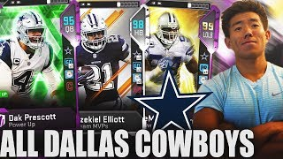 ALL TIME DALLAS COWBOYS! ZEKE, TERRELL OWENS, & MORE! Madden 19 Ultimate Team