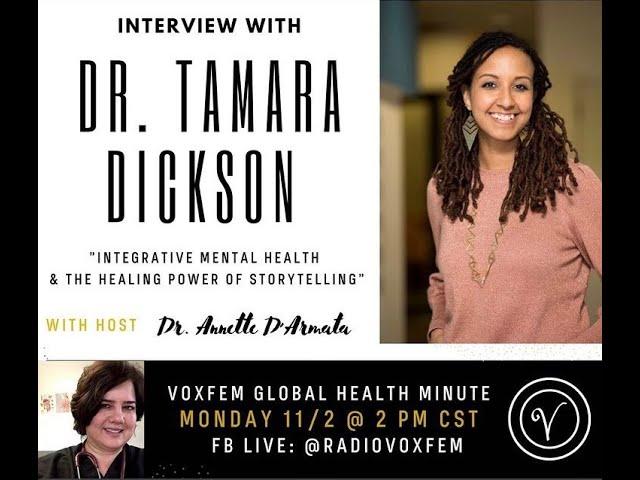 Dr. Dickson on VoxFem Global Health Minute