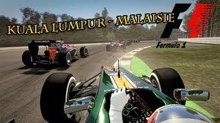 Gameplay F1 2013 Grand Prix de Malaisie : Kuala Lumpur  | FR - HD - PC